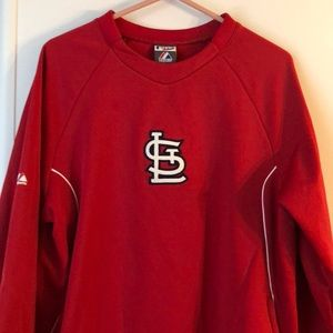 St. Louis Cardinals Pullover - MLB Authentic